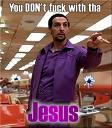 NADIE LE TOCA LOS HUEVOS A JESÚS
